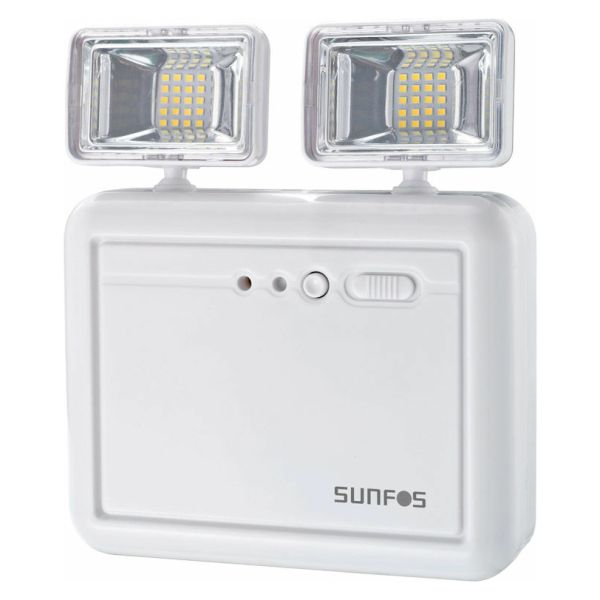3.7V – Μπαταρία λιθίου χωρητικότητας 2200mAh2 θέσεις λειτουργίας: Ένας προβολέας: 250 lumens / Δύο προβολείς: 500 lumensΑυτονομία: 3 ώρες (δύο προβολείς) / 6 ώρες (ένας προβολέας)Ψυχρός φωτισμός 6500ΚΈνδειξη φόρτισης & test buttonΠροβολείς με ρυθμιζόμενη γωνία κατεύθυνσης φωτός