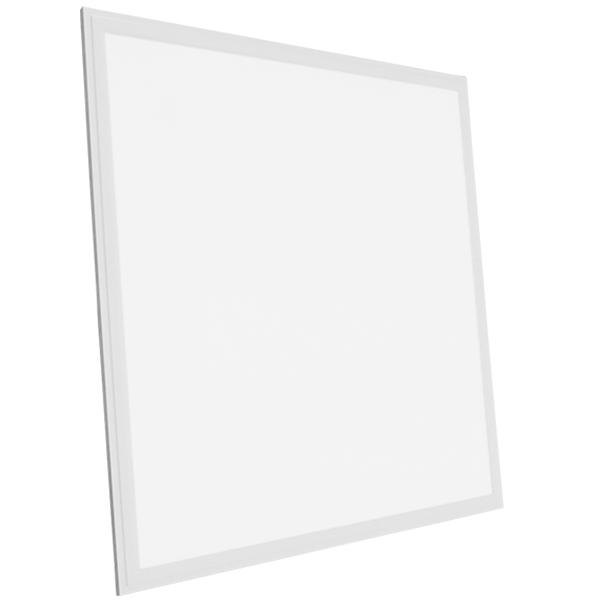 LED Panel Οροφής Ultra Slim 60x60cm Μοριακού Φωτισμού Milky 40W 230V 3920lm 180° Θερμό Λευκό 3000k GloboStar 01800