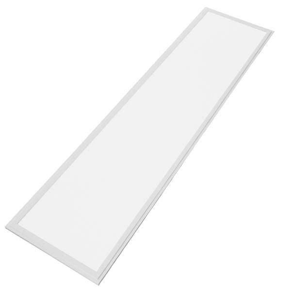 LED Panel Οροφής Ultra Slim 120x30cm Μοριακού Φωτισμού Milky 48W 230V 4720lm 180° Θερμό Λευκό 3000k GloboStar 01806
